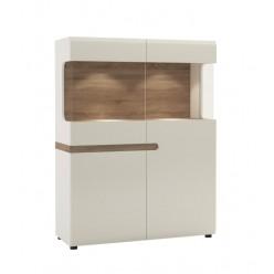 Шкаф-витрина для посуды Линате 3D-1S/TYP 33