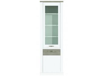 Шкаф-витрина для посуды Прованс 1V1D