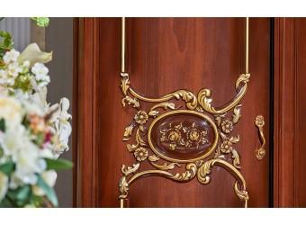 Шкаф 5-х дверный Даниэлла (темный орех)