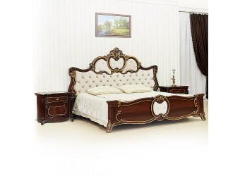 Кровать Лорена (темный орех) 1800х2000