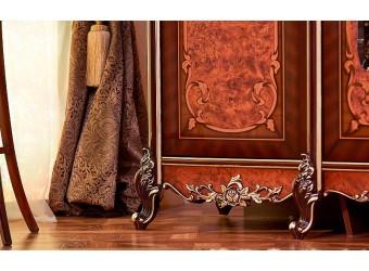 Шкаф 5-ти дверный Сандра (орех)