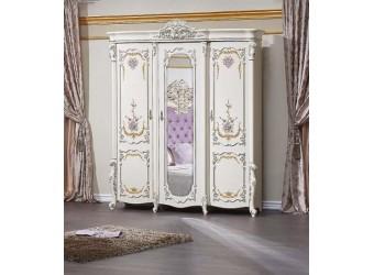 Шкаф 3-х дверный Венеция Классик (крем)