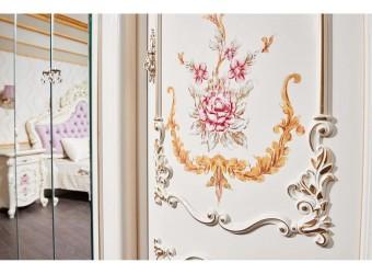 Шкаф 6-х дверный Венеция Классик (крем)