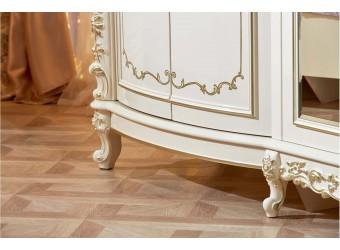 Шкаф 6-х дверный Версаль (крем)
