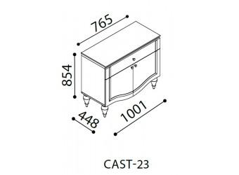 Комод в спальню Кастелло CAST-23