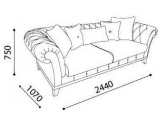 Трехместный диван-кровать VERSAY (Версай) VERS-01