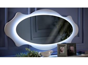 Настенное овальное зеркало для комода в гостиную Седеф SEDF-11