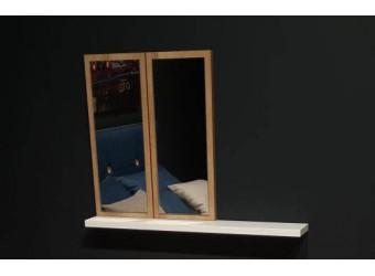 Настенное зеркало с полкой SANTINO SNTO-24
