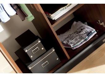 Двухстворчатый шкаф в спальню Вера VERA-23