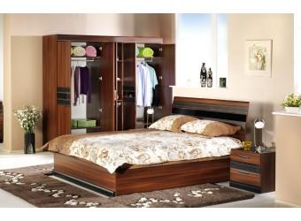 Пятистворчатый шкаф в спальню Вера VERA-21
