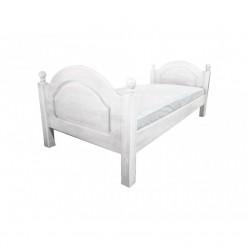 Односпальная кровать Лотос сосна Б-1089-05BRU (брашированный крем)