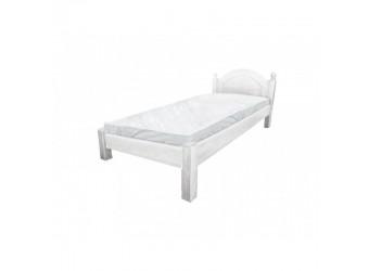 Односпальная кровать Лотос сосна Б-1089-08BRU (брашированный крем)