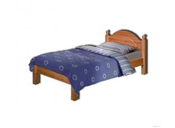 Односпальная кровать Лотос сосна Б-1089-08 (искусственное старение)