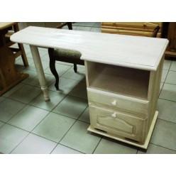 Туалетный столик Лотос сосна (брашированный крем)
