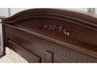 Двуспальная кровать Паола БМ-2172 (горячий шоколад) 1800 мм