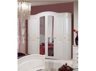 Шестистворчатый шкаф для одежды Венера (беж)