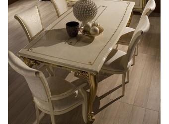 Обеденный стол (раздвижной) Катя (беж)