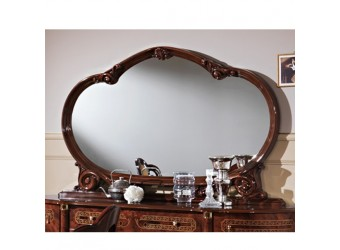 Зеркало для комода Роза (орех)