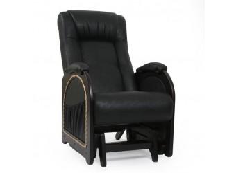 Кресло-качалка глайдер Комфорт № 48 из дерева с маятниковым механизмом