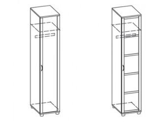 Одностворчатый шкаф Фристайл ФР-9