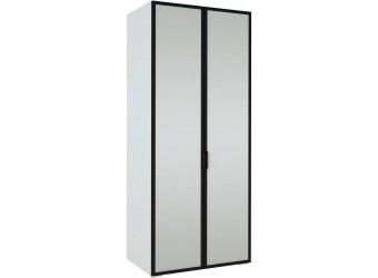 Шкаф двустворчатый с зеркалом Хилтон ХТ-201.02