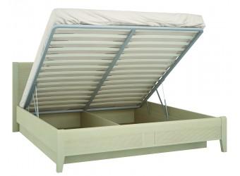 Кровать двуспальная 1800 с подъемным механизмом Сиерра(светлый) СИ-801.28