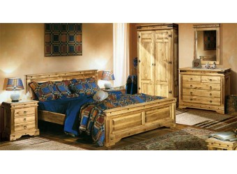 Спальня  Викинг (искусственное старение)