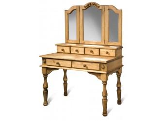 Стол туалетный с зеркалом Викинг GL (искусственное старение)