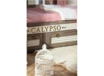 Кровать Калипсо с большой прикроватной полкой ЛД 509.160
