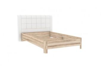Кровать 900 с мягкой спинкой Марта