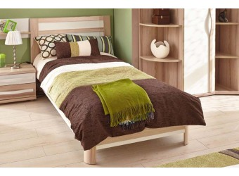 Кровать 1200 с спинкой Марта