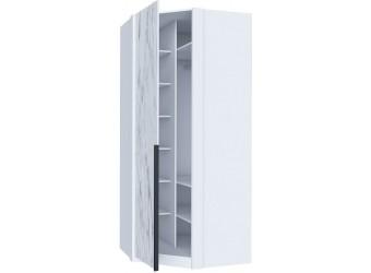 Шкаф угловой Норд ЛД 677.080.000.011 Белый/Статуарио