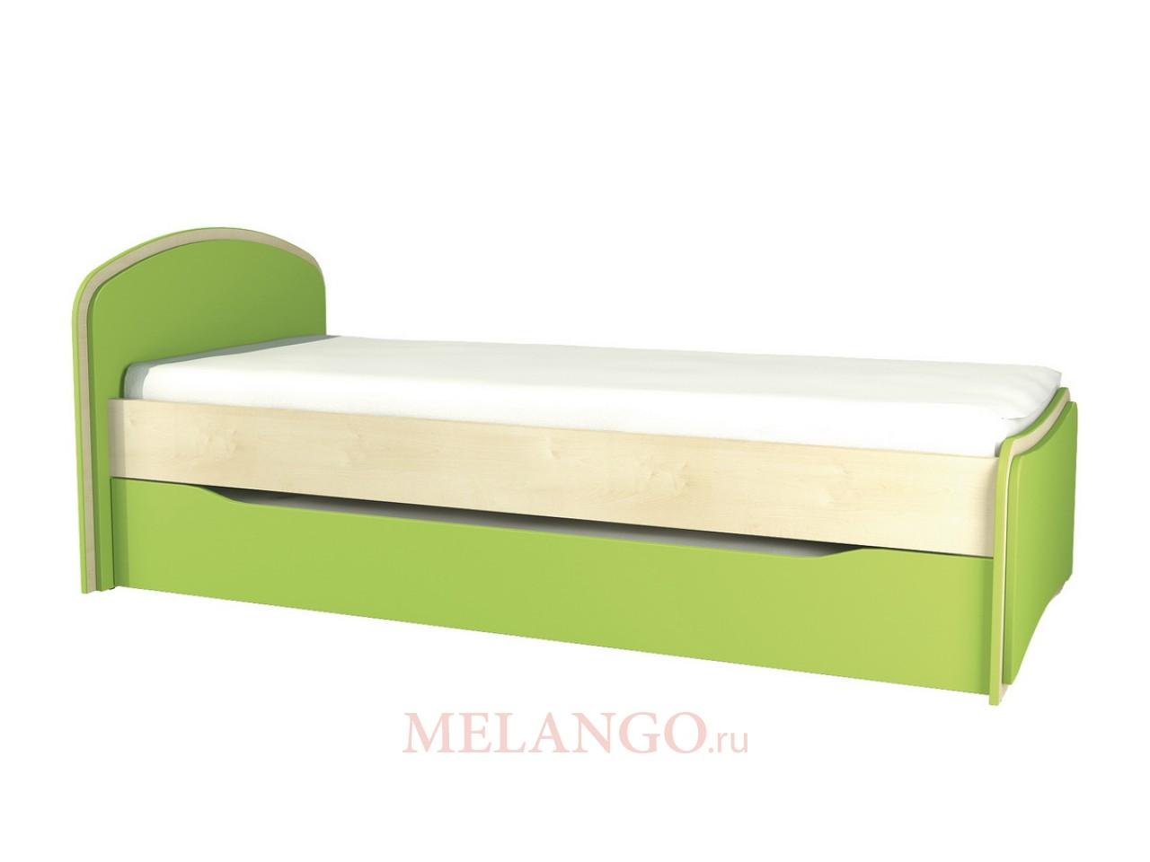 Выкатная кровать для двоих детей Комби МН-211-09