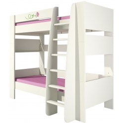 Детская двухъярусная кровать с лестницей Розалия КРД180-1Д1