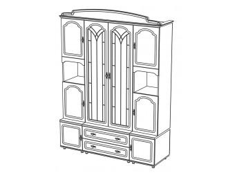 Мебель для гостиной Романтика от Мебель-Неман