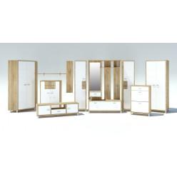 Модульная прихожая Домино Сонома от Мебель-Неман