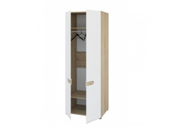 Двухстворчатый шкаф для одежды Леонардо МН-026-22
