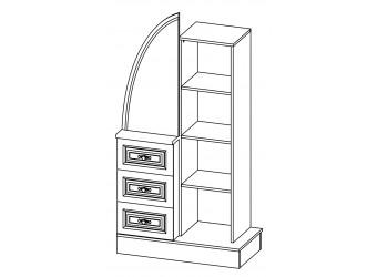 Комбинированный шкаф Василиса СП-001-10П