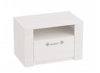 Прикроватная тумба для спальни Элана, цвет Бодега белая