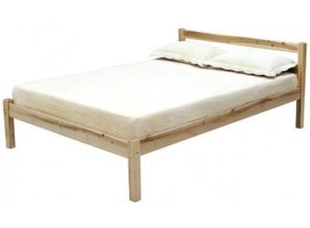 Кровать двуспальная Рино массив березы