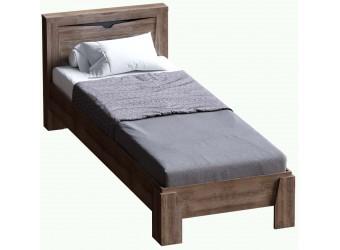 Односпальная кровать Соренто Дуб Стирлинг