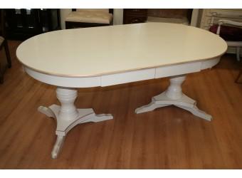 Обеденный стол Полонез ММ-174-41 (белая эмаль)