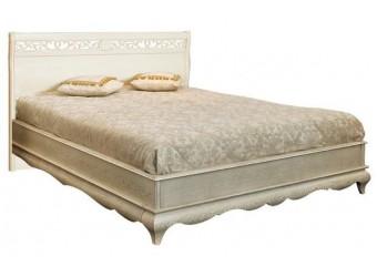 Двуспальная кровать Оскар ММ-216-02/14Б2 (белая эмаль+пт)