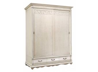Шкаф для одежды Оскар ММ-216-01/02Р (белая эмаль+пт)