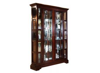 Шкаф с витриной Полонез ММ-174-02 (черешня)