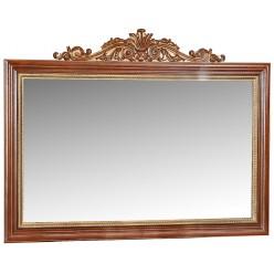 Зеркало «Альба 18» П485.18к (палисандр с золочением)