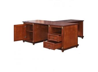 Письменный стол «Валенсия 8» П444.13 (каштан)