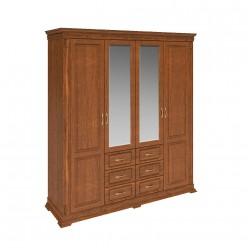 Шкаф «Верди Люкс» П434.01 (черешня)