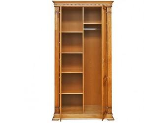 Шкаф для одежды «Верди Люкс» П433.10 (дуб рустикаль с патинированием)