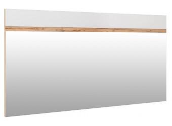 Зеркало настенное «Гелиос» П554.06 (дуб вотан/белый глянец)